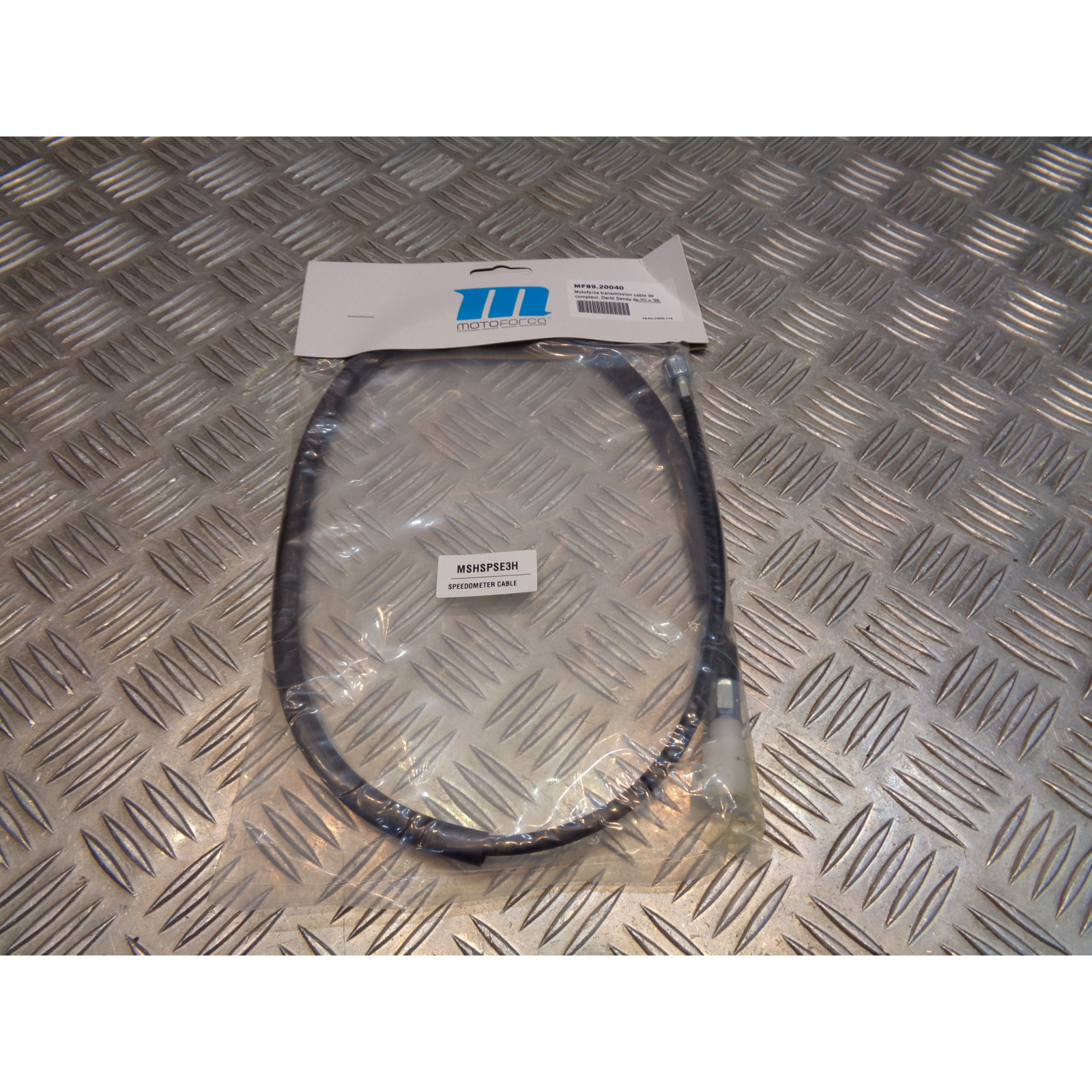 cable compteur vitesse motoforce moto derbi 50 senda 2003 - 2005 mecaboite