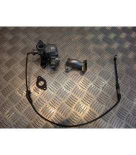 carburateur + pipe admission moto cross chinois 125 dirt bike 154fmi dax
