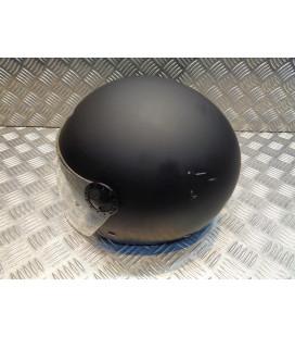 casque demi jet s-line noir mat double visiere taille xs 54 scooter moto quad