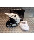 casque progrip 3091 pour moto cross mx enduro taille xxl 63 blanc