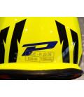 casque progrip 3095 pour moto cross mx enduro taille s 55 - 56 jaune