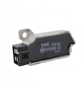 regulateur charge batterie sh569-12 moto yamaha 600 xt fzr srx 660 xtz tenere 125 200 250 tzr tw fzx xv virago wr rd 500 lc ...
