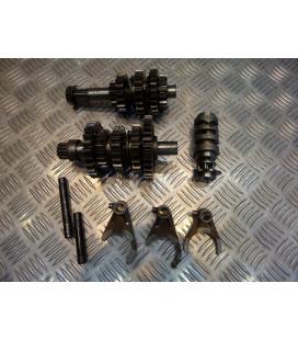 boite de vitesse complete moto ktm 600 lc4 er600lc4 1988 - 89