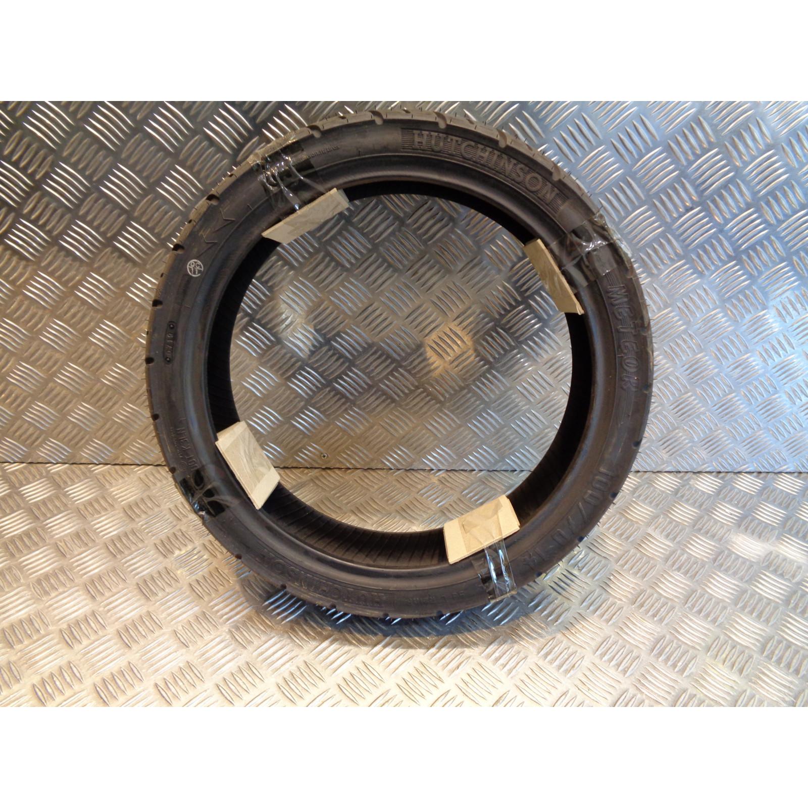 pneu scooter hutchinson meteor 100 / 70 - 14 m/c 53l reinf neuf