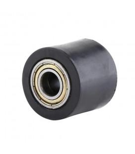 roulette de chaine transmission universel adaptable 38 mm diametre 10 mm noir pour moto multimarque mecaboite enduro trail ...