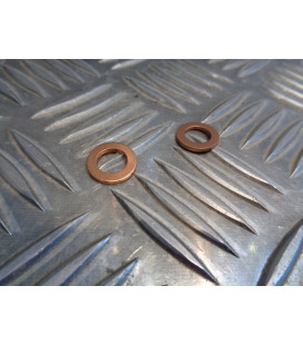 2 x rondelle cuivre 8 mm frein vis banjo maitre cylindre frein scooter moto quad