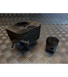 cylindre piston gauche moto jawa 350 ts tlj639