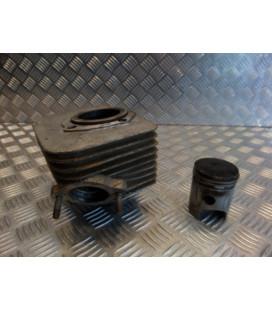 cylindre piston droit moto jawa 650 ts tlj639