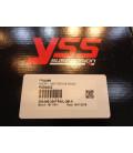 amortisseur suspension YSS MG456 racing moto kawasaki z 800 cbr 600 f MG456-330TRWL29I-X bihr 7700496